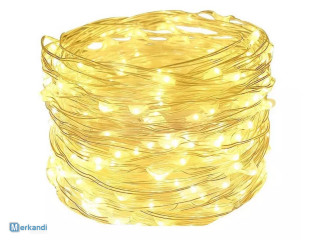 BENSONS LAMPS WIRE 100 LED 10M WARM WHITE